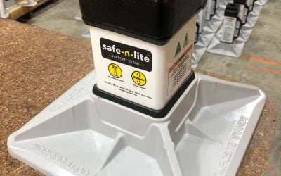 safe-n-lite support stand